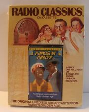 Radio Classics Amos N Andy Cassette New Sealed Radio Broadcast Old Time and &