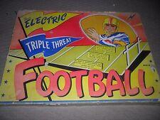 "vintage NFL Triple Threat Football Game ""ELECTRIC"" Jim Prentice model no.624"