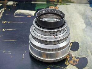 Angenieux Paris 75mm f2.8 m42 mount modified  Type Z5 lens