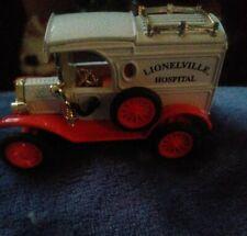 1913 Ford Model T Lionelville Hospital Ambulance