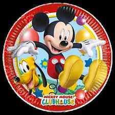 Oficial Disney & personaje infantil fiesta Celebración Cumpleaños suministro Mickey Mouse 8 pk