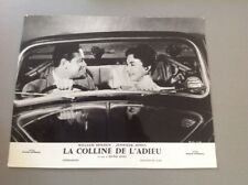 PHOTO D'EXPLOITATION (LOBBY CARD) : LA COLLINE DE L'ADIEU (William Holden)