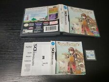 Rune Factory: A Fantasy Harvest Moon Nintendo Ds Complete FREE SHIPPING