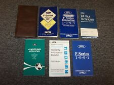 1991 Ford F250 F350 F450 F550 F-Series Owner Owner's Operator Manual Set 7.3L