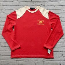 Vintage New Polo Sport Ralph Lauren Jersey Shirt Size L Long sleeve Knit