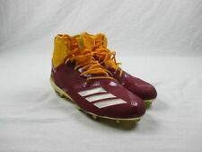 adidas - Maroon/Yellow Cleats (Men's 12) - Used