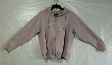 Women's L/S Full Zip Hooded Sweatshirt From OCEAN CITY Maryland Lt Purple SZ M