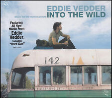 INTO THE WILD - EDDIE VEDDER SOUNDTRACK Hardback Book Ed. CD ( PEARL JAM ) *NEW*