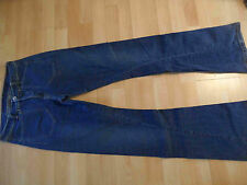 GIRBAUD  dunkle Retrojeans m. Schlag Gr. 38  TOP TH316