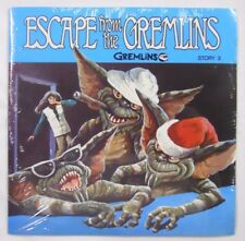 1984 Buena Vista Read-Along Book & Record Set-Escape from the Gremlins Story 3