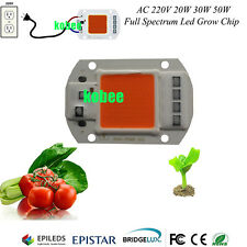 50W 380NM-840NM Full Spectrum LED COB Chip, Integrated Smart IC Driver 220V