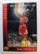 "1995 Retro ""He's Back"" 1993 Upper Deck Michael Jordan #23, Bulls"