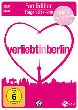 &B 3 DVDs * VERLIEBT IN BERLIN - BOX 8 - FOLGEN 211 - 240 FAN EDITION # NEU OVP