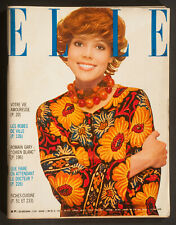 'ELLE' FRENCH VINTAGE MAGAZINE SUMMER ISSUE 11 MAY 1970