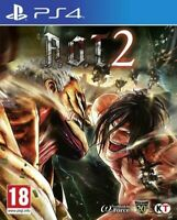 A.O.T 2 Attack On Titan (PS4 PLAYSTATION 4 VIDEO GAME) *NEW/SEALED* FREE P&P