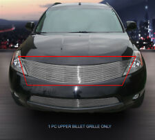 Fits 2003-2008 Nissan Murano Polished Billet Grille Front Grill Upper