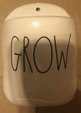 New Rae Dunn Grow Wall Pocket Planter Key Mail Flower Seed Brochure Holder Gift
