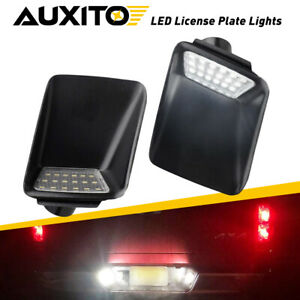 2X White LED License Plate Lights For 2004-2012 Chevrolet Colorado/GMC Canyon EA