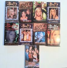 9 Book Lot - Buffy the Vampire Slayer Novels - Gently Read