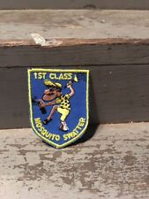 Vintage Patch 1970-1980s 1st Class Mosquito Swater
