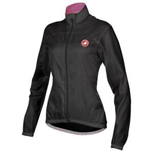 Castelli Womens Velo Rain Jacket - Black