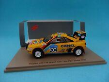 1 43 Spark Peugeot 405 T16 #204 Rally Paris Dakar Waldegard/fenouil