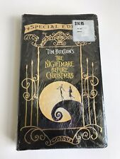 """The Nightmare Before Christmas"" VHS Special Edition Sealed New Tim Burton 7E"