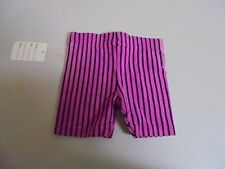 Vintage Girls PINK Green With Black Stripes Shorts size 2T