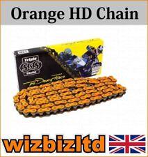Cadena de color principal naranja para motos