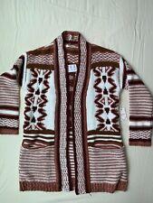 Forever 21 Tribal Print Cardigan S