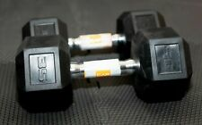 (SINGLE) CAP Barbell Coated Hex Rubber Dumbbell 35 lbs Weight SAME DAY SHIPPING!