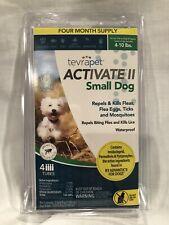 TevraPet Activate Ii Small Dog 4-10 lbs- Repels & Kills Fleas Eggs Tick Mosquito