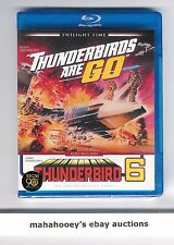 Thunderbirds are Go / Thunderbird 6 - Twilight Time SOLD OUT OOP Blu-Ray SEALED!