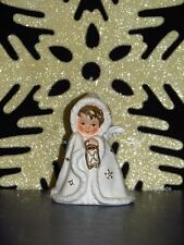 +# A009428_34 Goebel Arbeitsmuster Robson Rob412 Weihnachtsengel TMK6 weiß gold