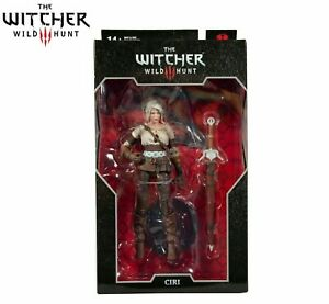 McFarlane Toys The Witcher 3 Action Figure Ciri - Brand New Sealed UK Seller