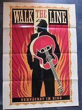WALK THE LINE - Filmplakat A1 - Joaquin Phoenix - Johnny Cash