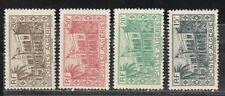1944 sellos de colonia francesa, Argelia, 15fr a 200fr MH, SC 167-9,171