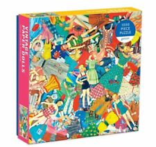 New Hard To Find Vintage Paper Dolls 1000 Piece Jigsaw By Galison New York