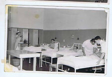 TRIPOLI HOSPITAL BEDS 1940s LIBYA ORIGINAL VINTAGE OLD REAL PHOTO POSTCARD GZ