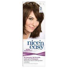 Clairol Nice N' Easy Hair Color #75, Light Ash Brown Uk Loving Care  (6 Pack)