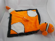 """My Banky Clown Fish GABRIELLE Lovey Security Blanket 24"""" Nose to Tail"""