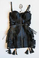 Bordelle Angela Pearly Bandage Dress Black L Collector's Edition BNWT Swarovski