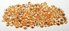 2.35mm to 2.45mm Nigerian Gold Spessartite Garnet Round Accent Stone