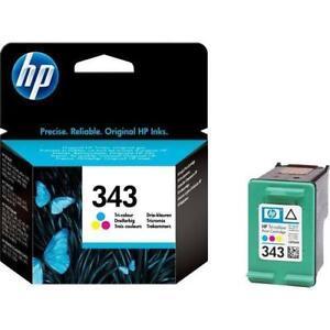 ORIGINAL HP 343 COLOUR INK CARTRIDGE C8766EE