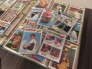 1977 Topps Baseball Complete Set Andre Dawson RC Nolan Ryan Stars HOF +More T88