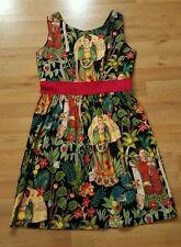 Hemet Frida Kahlo Dress Head Over Wheels Size-L