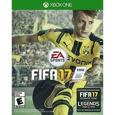 Game FIFA 17 XBOX ONE Featuring FIFA ULTIMATE TEAM! NEW SEALED/Juego para XBOX