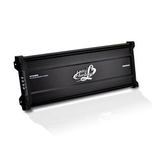 Lanzar HTG888 Heritage Series 5000W 8-Channel Mosfet Amplifier LED Indicators