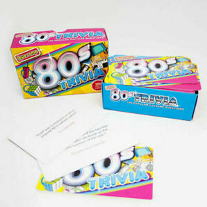 Awesome 80's Trivia Quiz Eighties Retro Fun Party Game Stocking Filler Gift
