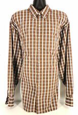 U.S. POLO ASSN Men's Plaid Long Sleeve Button Down Shirt Tag Size 3XLT